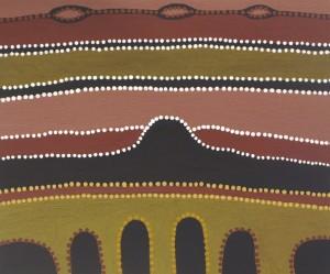 Aboriginal Art by June Peters 300x249 image