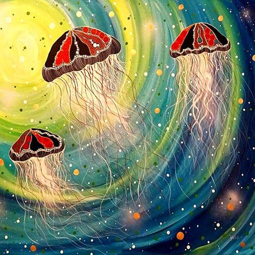Melanie Hava A Reef Perspective Jellyfish image