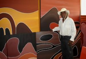 aboriginal artist churchill cann inthestockroom 300x208 image